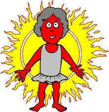 gamba quemada
