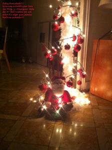 1er cumpleblog feliz navidad
