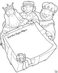 reyes magos carta